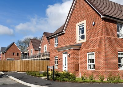New Housing development in the UK.