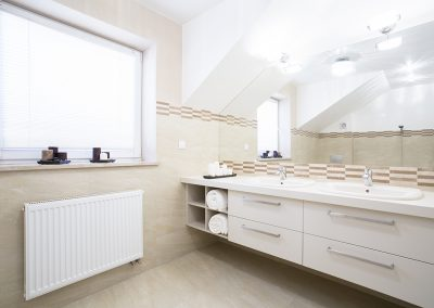 Two-person bathroom in new house